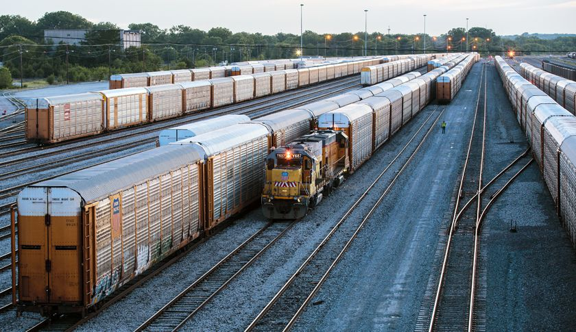 Railroad Access Warehouse