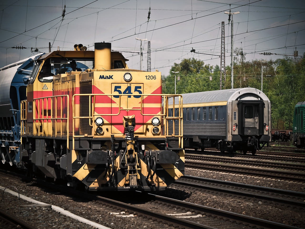 Future Rail Freight Transportation
